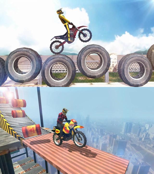 摩托车特技表演优化版截图1