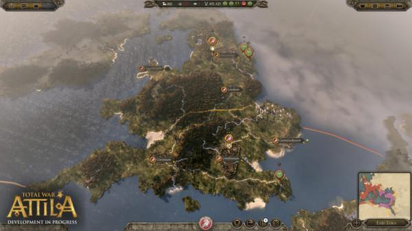 《全面战争:阿提拉 Total War: ATTILA》中文版百度云迅雷下载V1.6.0.9824+全DLC