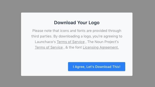 Launchaco AI帮你设计LOGO制作,可以免费下载