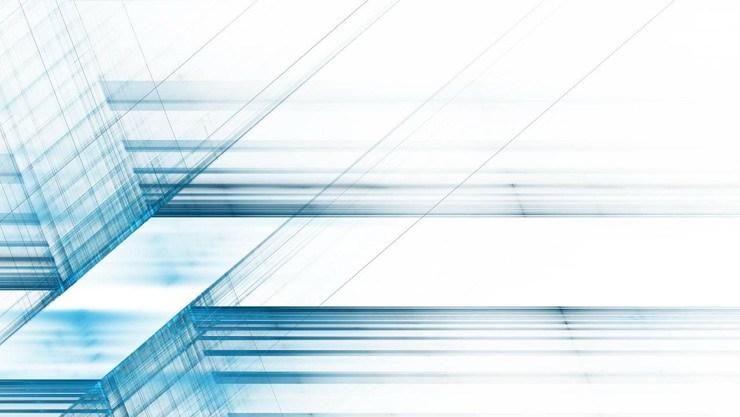 蓝色空间科技PPT背景图片