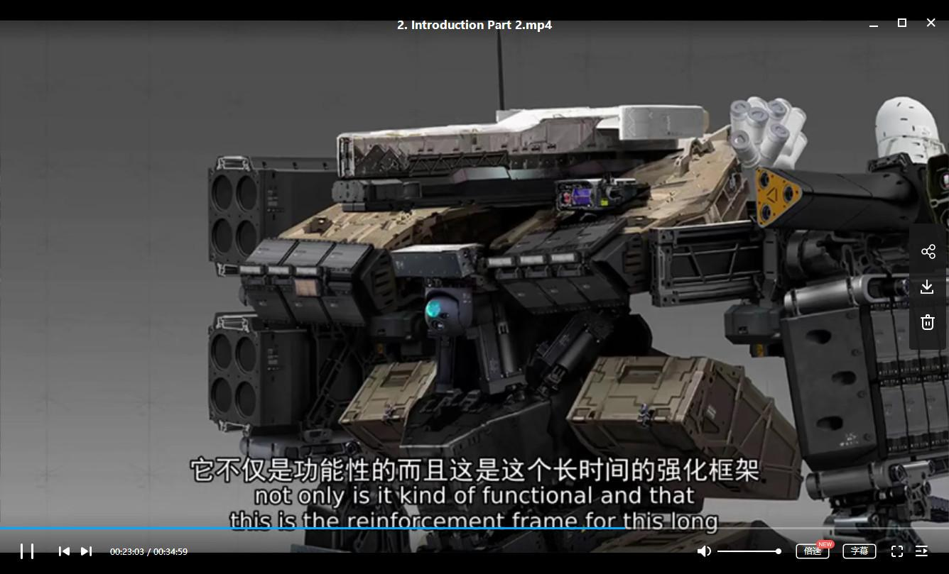 3D教程-Artstation 2018大师班视频教程十部合集 中文字幕 35.88GB(3)