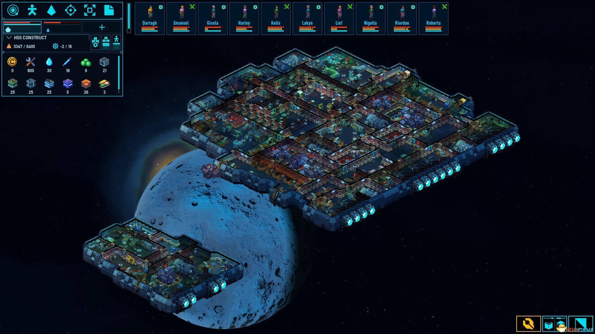 《太空避难所(Space Haven)》官方中文 v0.8.16 解压即玩