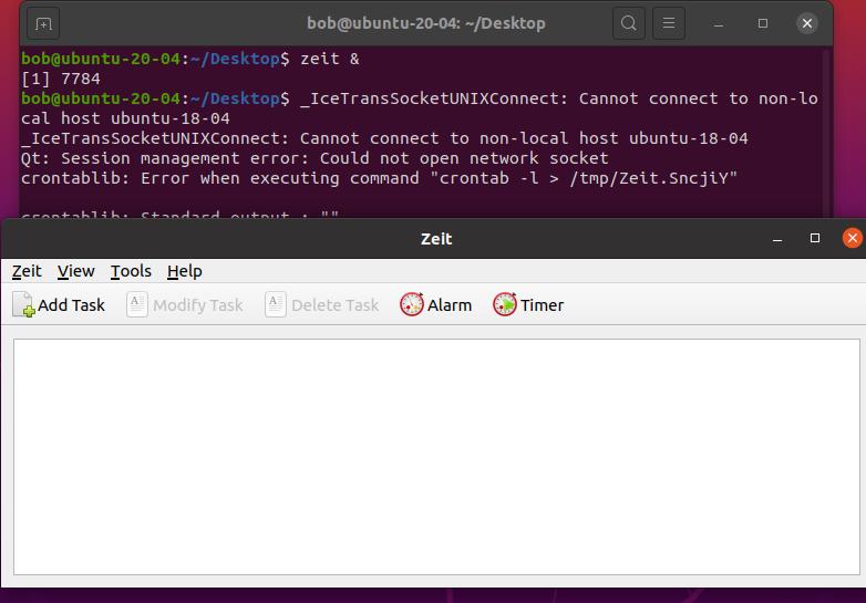 Zeit – Linux图形化中定时任务的工具Zeit – Linux图形化中定时任务的工具