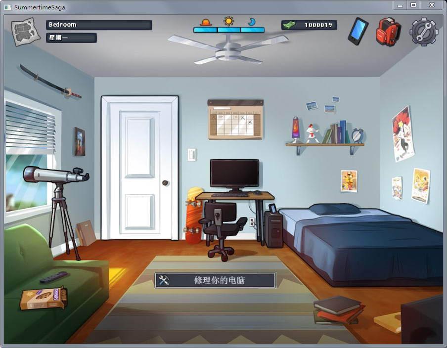 夏日传说SummertimeSaga最新汉化版 PC+安卓Summertime Saga V20.7