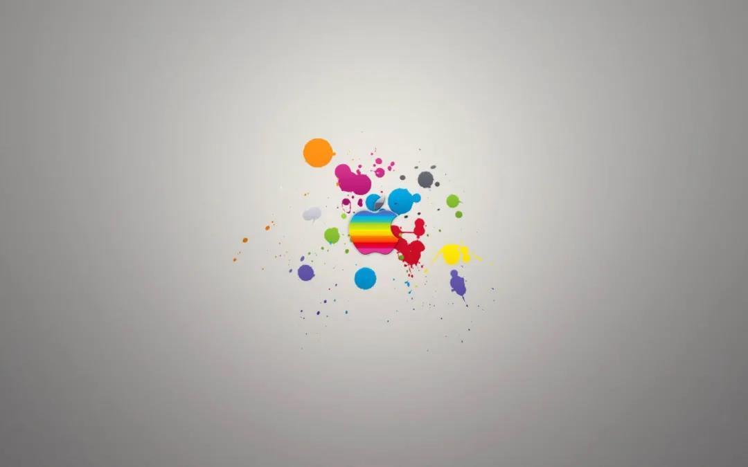 5f681463160a154a67371ada 苹果最新壁纸分享 色彩斑斓iOS13隐藏Dock栏