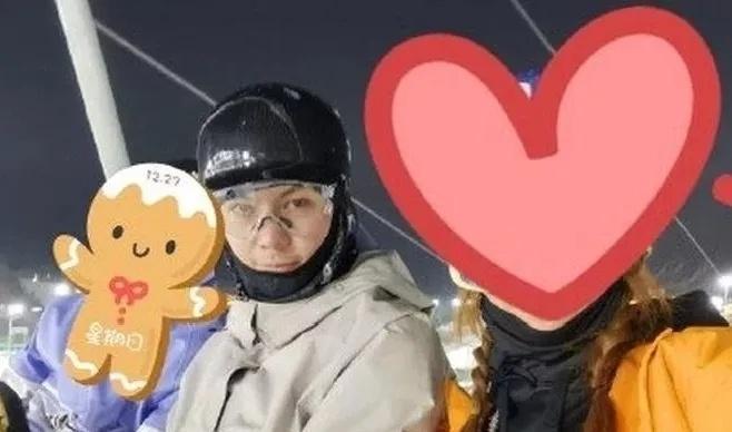 陈伟霆成滑雪场常客,为了偶遇全民滑雪去!
