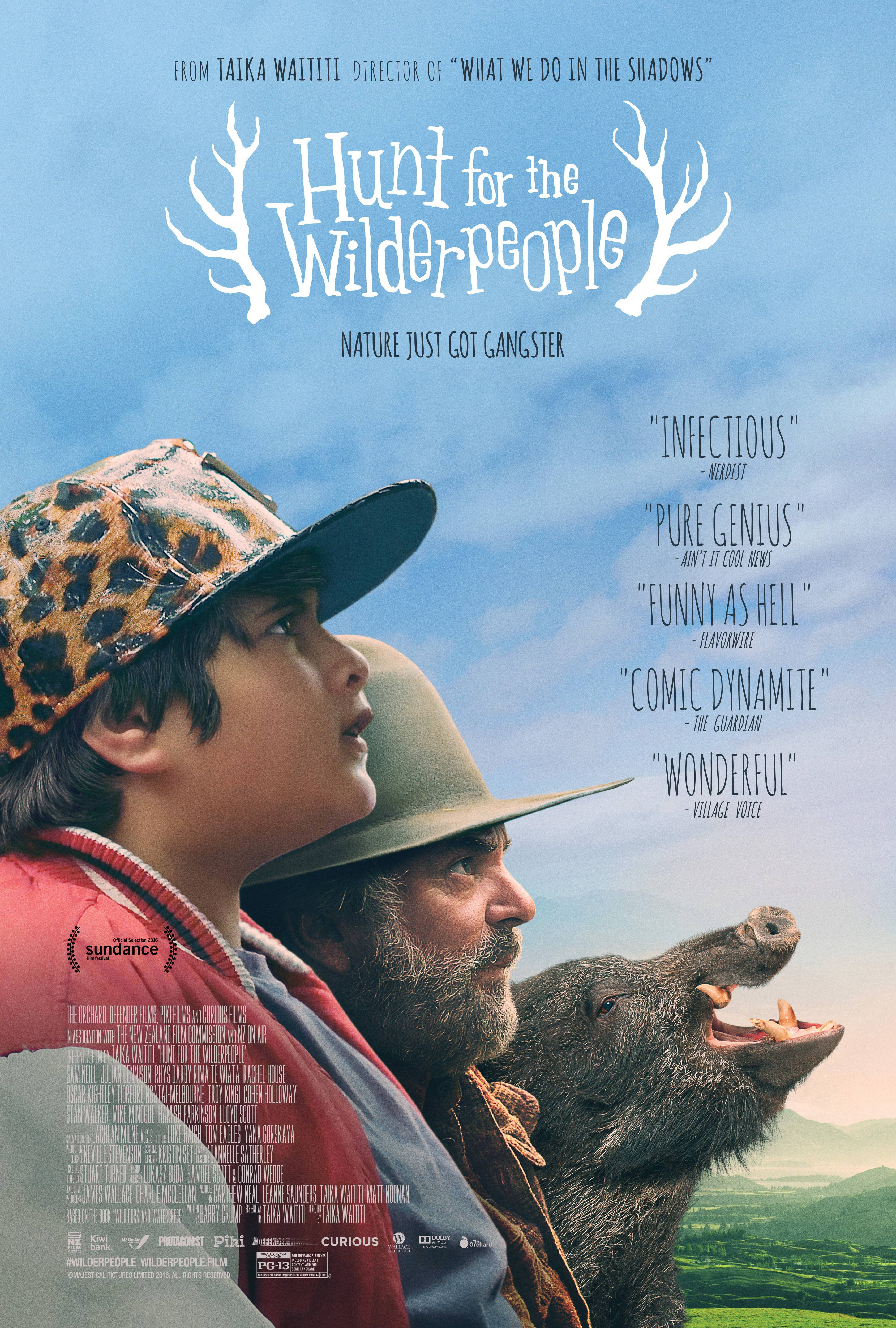 追捕野蛮人/寻找蛮人/神鬼嚎野人 Hunt for the Wilderpeople (2016)百度云迅雷下载
