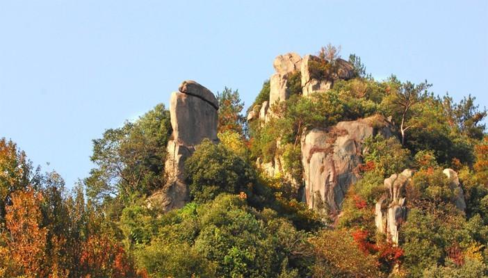 广德灵山风景区坐落在安徽省广德县境内
