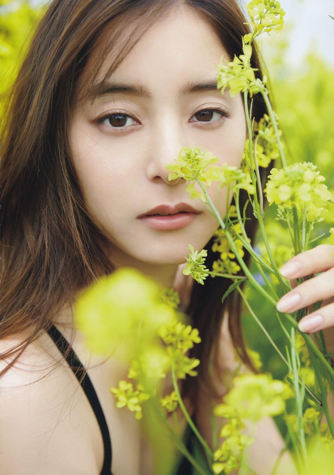 日本女神模特新木优子唯美高清写真集