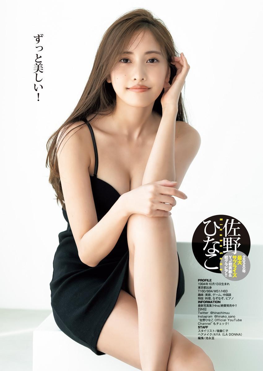 佐野雏子 川口葵 Young Jump