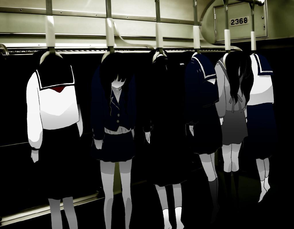 【动漫图集】电车-電車