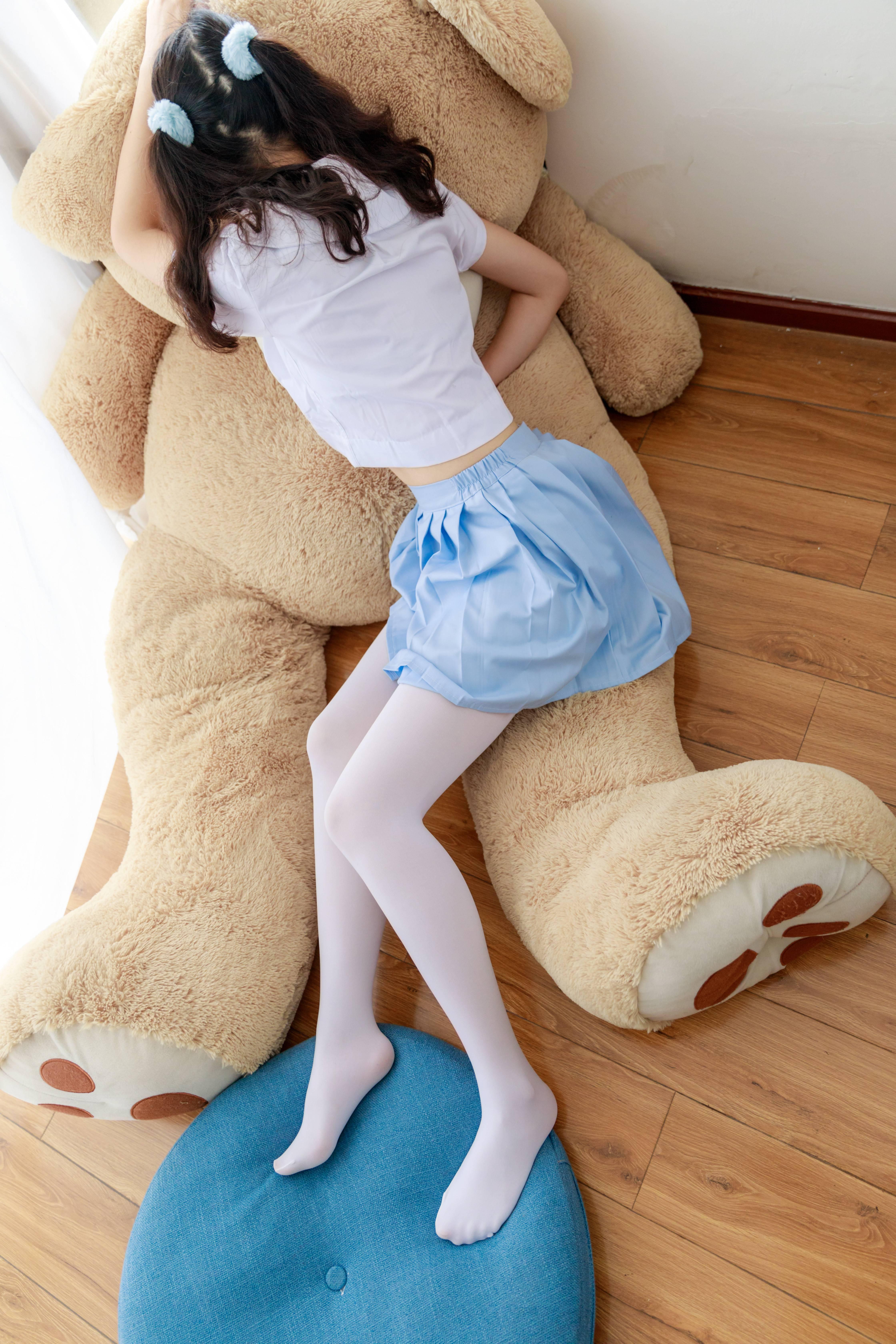 喵写真 PR15 007 无水印(一枚毫无瑕疵的妹子~~天蓝短裙亮眼)