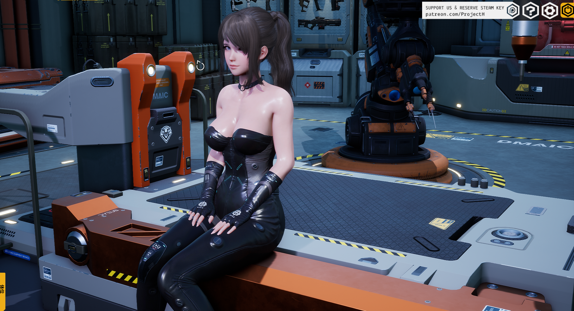 【3D互动/虚幻4】堕落玩偶女1号 Project H Fallen Doll Ver1.31最终版+动画版【16G】