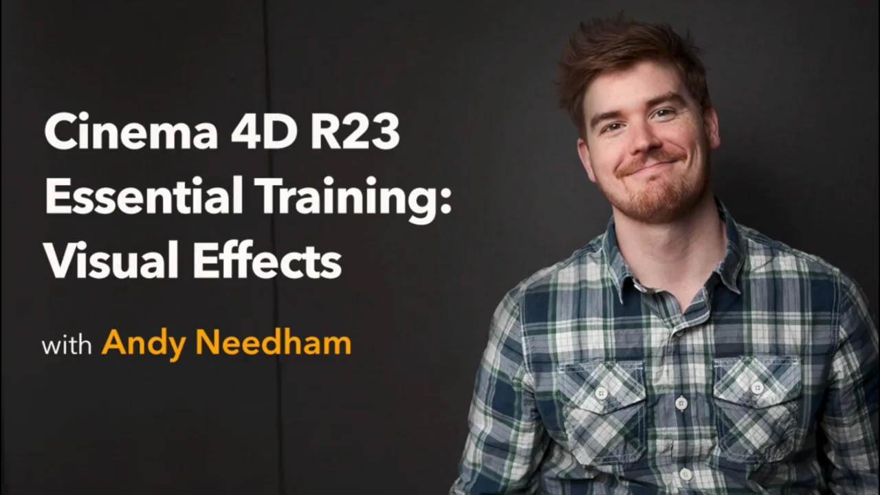 Lynda – Cinema 4D R23 Essential Training VFX - C4D R23视频特效合成教程