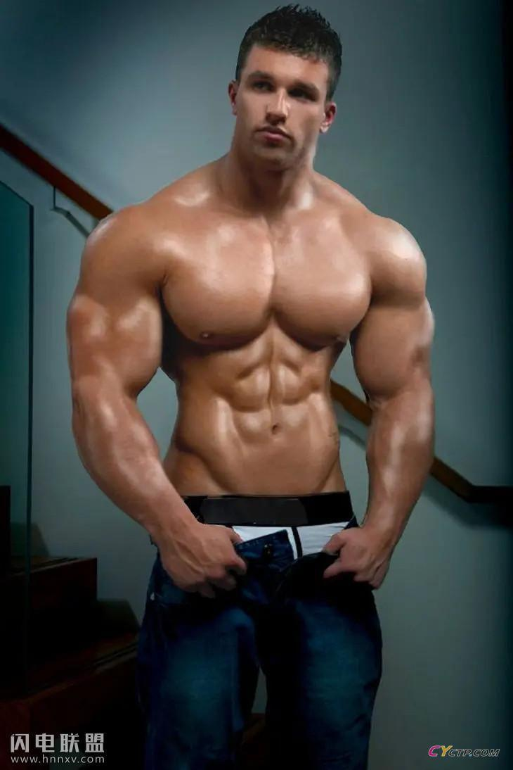 欧美帅气八块腹肌型男图片合集