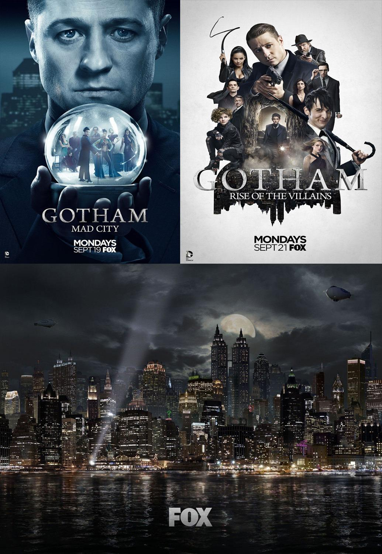 美剧《哥谭/Gotham》1-5季全集 高清无删减 百度云下载图片 第1张