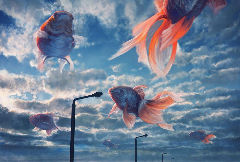 【Pixivision】優雅地游來游去。天空之魚特輯