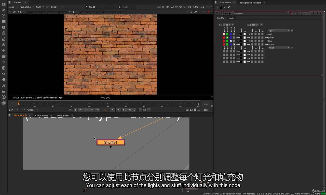 Nuke视频特效合成教程 Introduction to Nuke VFX Compositing The Essentials - NK101