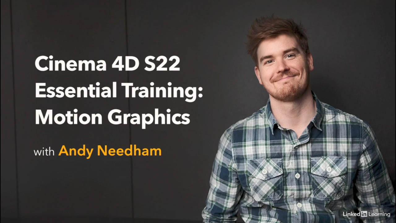 Cinema 4D S22 Essential Training Motion Graphics - Lynda