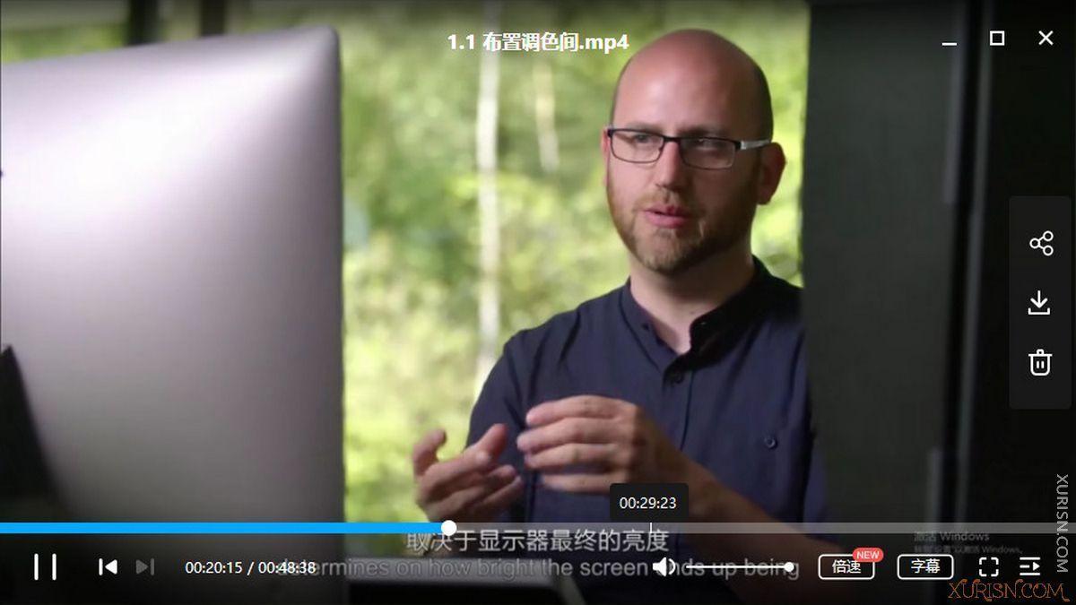 影视后期-Ollie Kenchington调色大师课:8大模块掌握调色技巧 中文字幕(4)