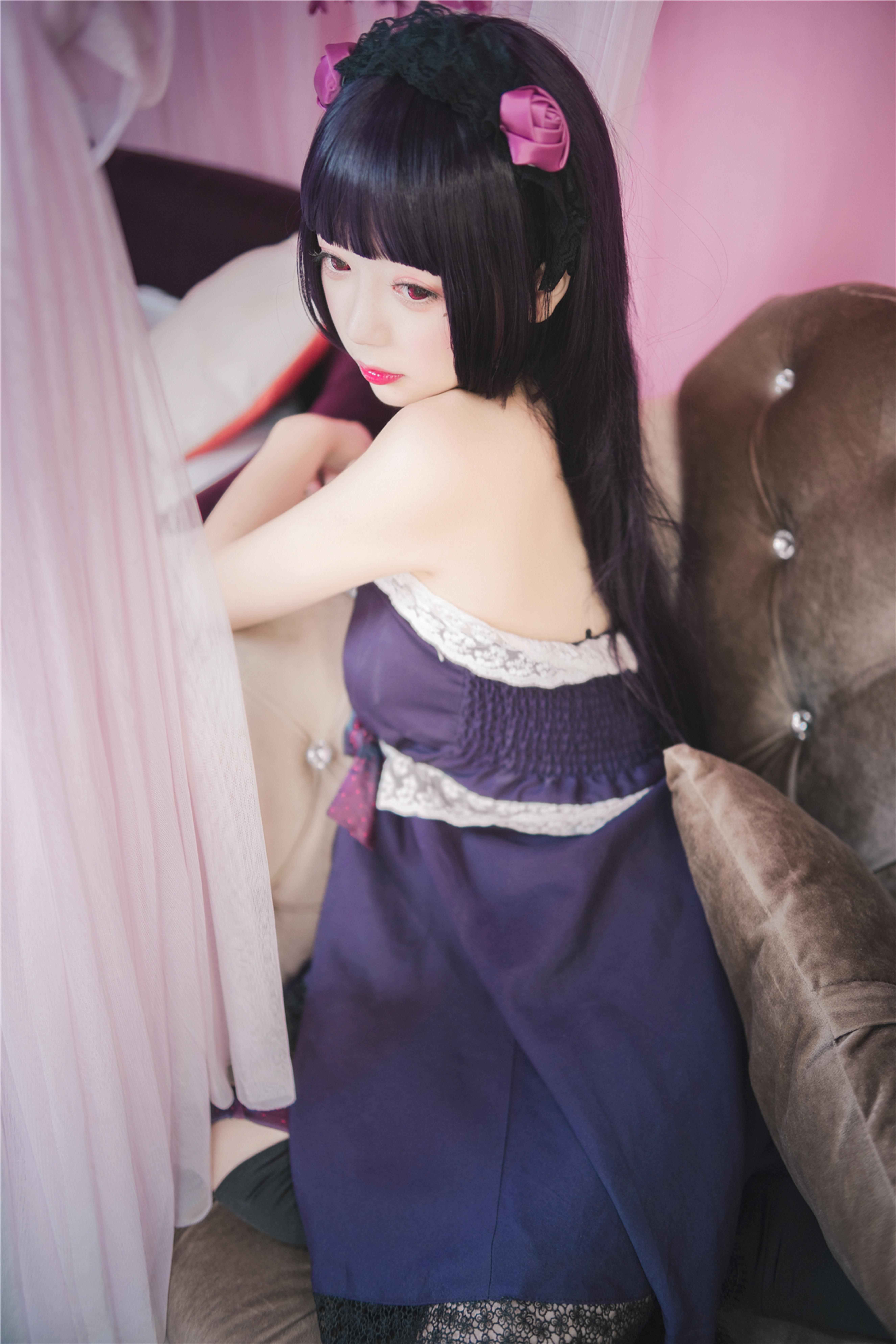 风之领域 0212(紫色多么高贵的颜色,萌妹子太棒了-化生人间妖姬)-蜜桃畅享