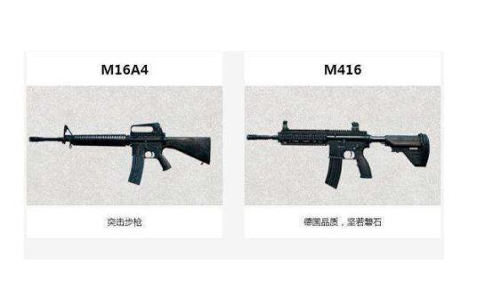 绝地求生M16A4图鉴图片9张