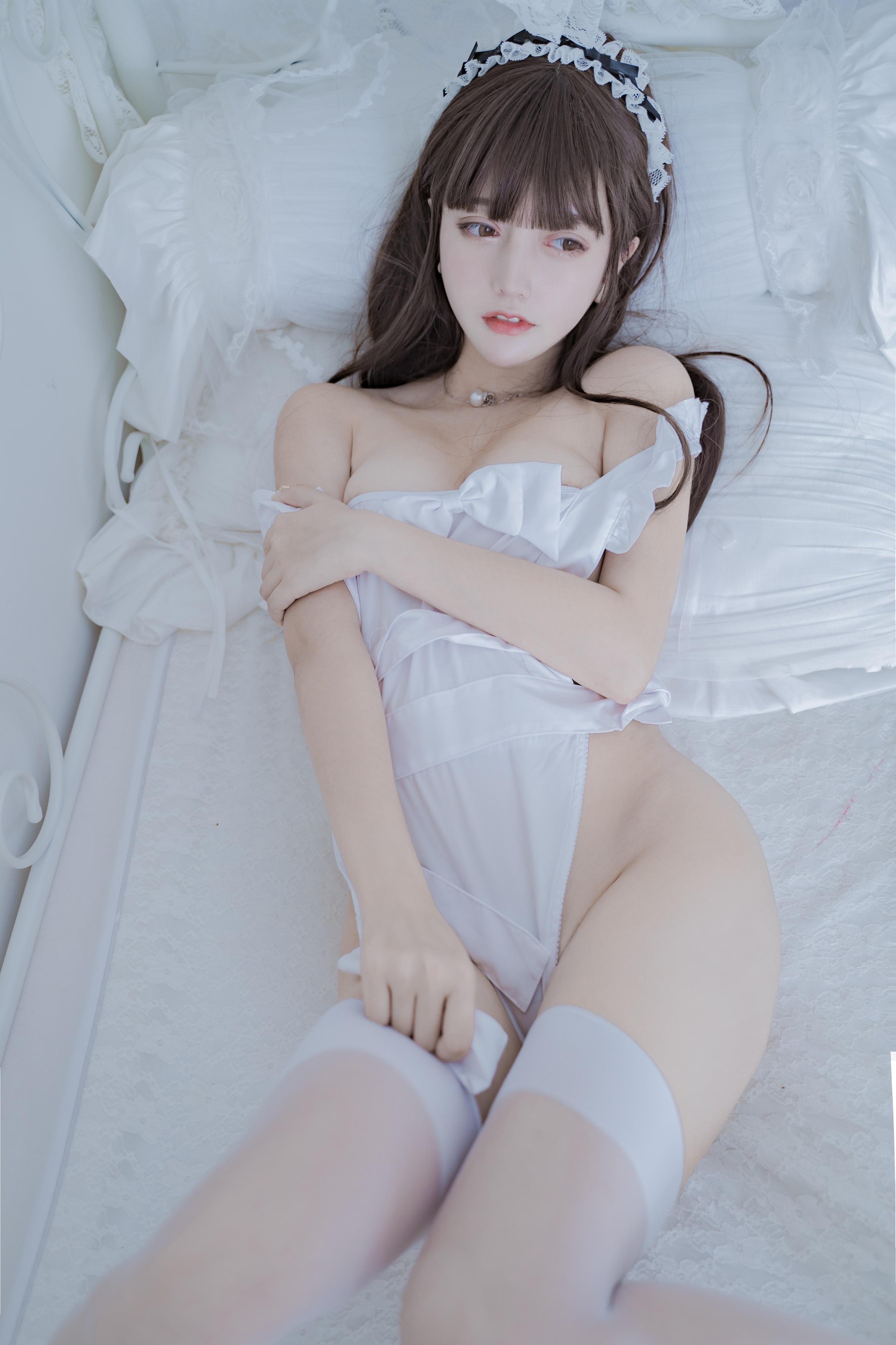 过期米线线喵 连体围裙私房主题写真[31P/61MB]