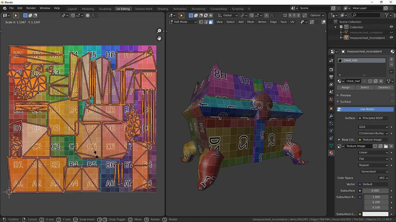 游戏模型展UV教程 UV Mapping for Games with Chunck Trafagander
