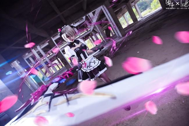 【cosplay】崩崩崩 丽塔洛丝薇瑟