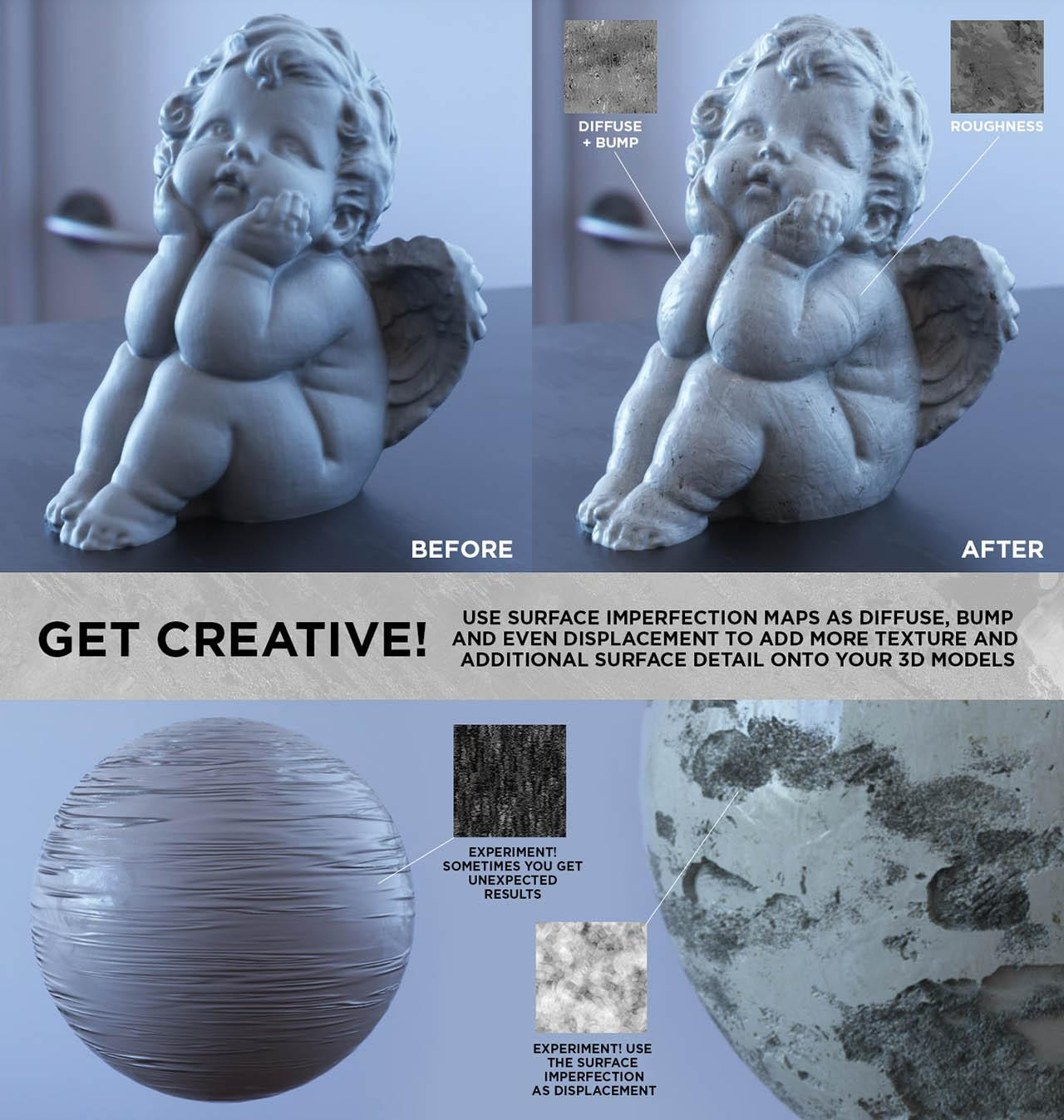 Ultimate Pack 150 Roughness Maps Surface Imperfection by Travis Davids - Gumroad