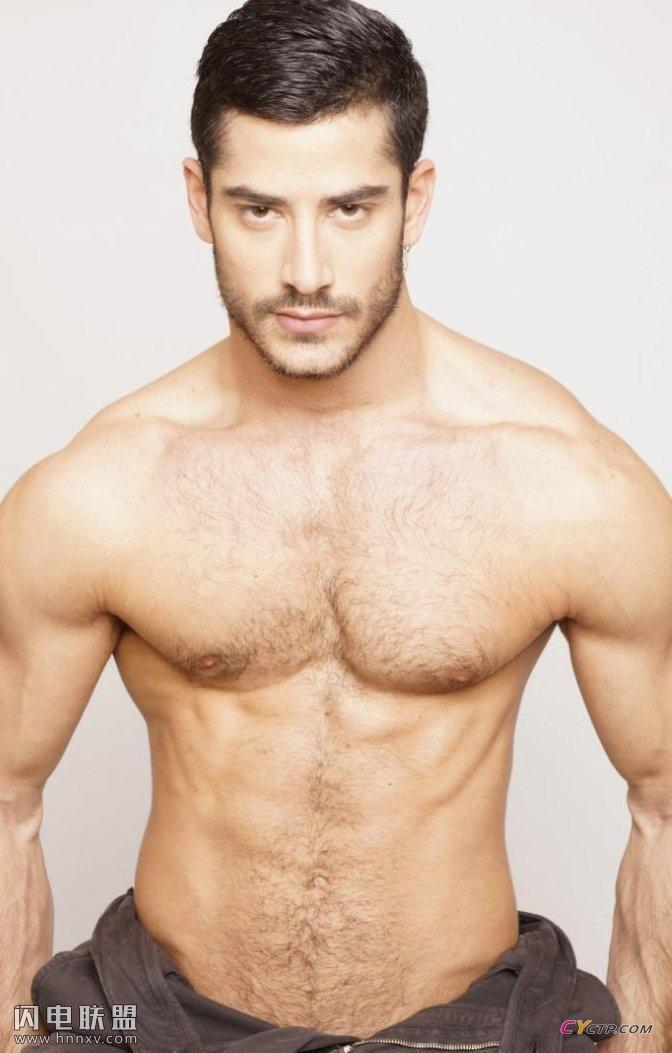 欧美平头型男性感健壮荷尔蒙爆棚写真