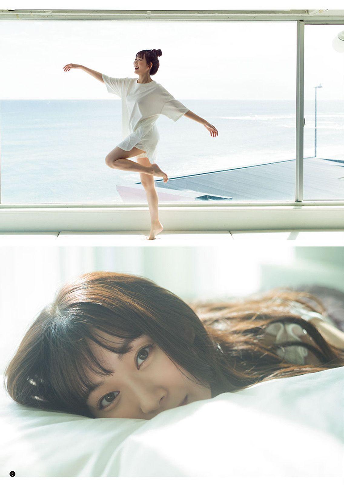樱木美凉Young Champion写真杂志限定角度的胸拍 美女写真 热图5