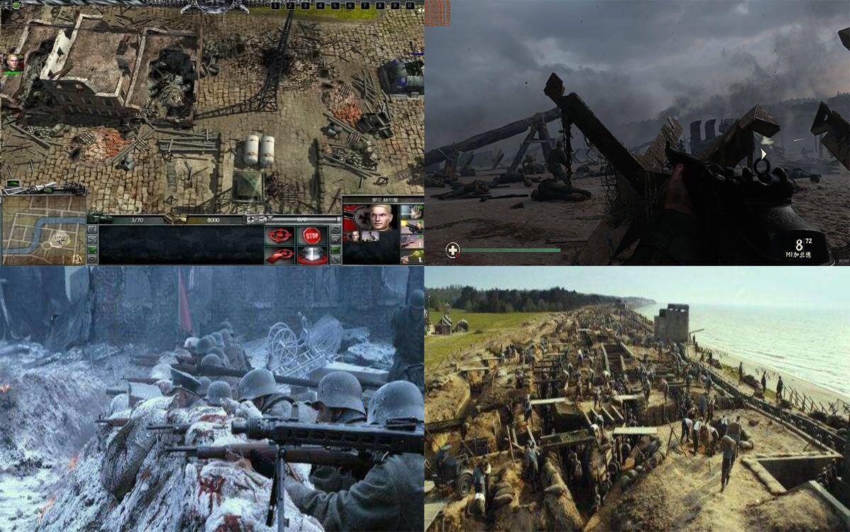 『电脑游戏』登陆日(2004)一款以著名的二战时期为背景的游戏