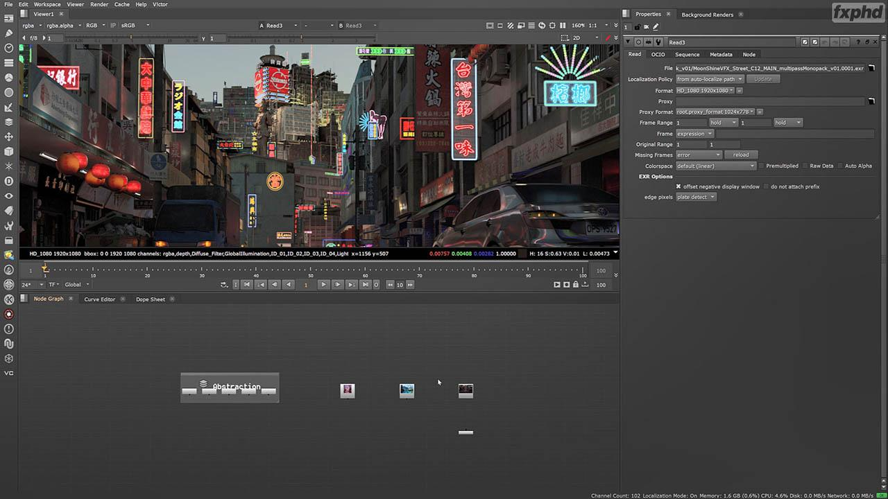Photorealism in Compositing with NUKE Fundamentals – FXPHD NUK312