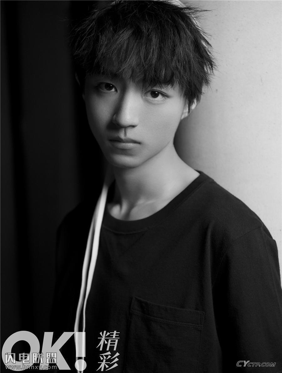 TFBOYS队长王俊凯帅气时尚写真大片