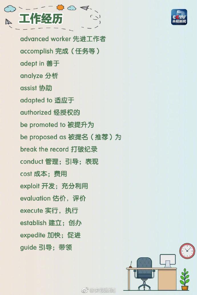 #英语课#【快收好!9张图轻松搞定中英文简历!助你成功!】