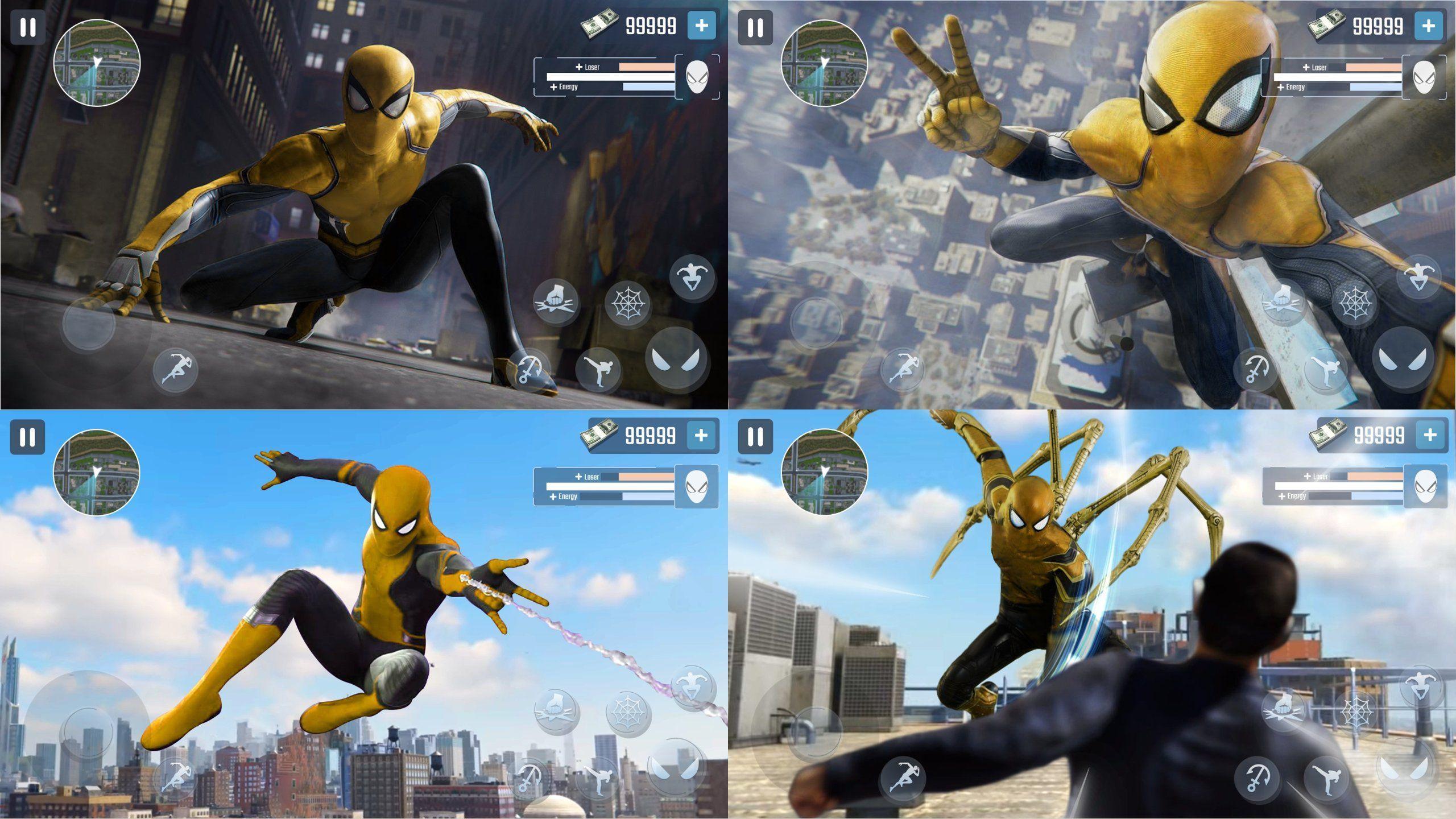 蜘蛛侠英雄:嘿帮优化版截图1