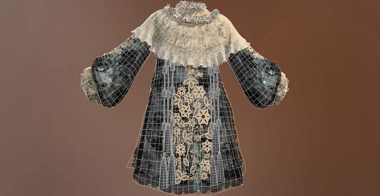 女性薄纱裙衣服制作教程 Tutorial On Creating Lace Dress In Marvelous Designer By Marianna Yakimova - ArtStation