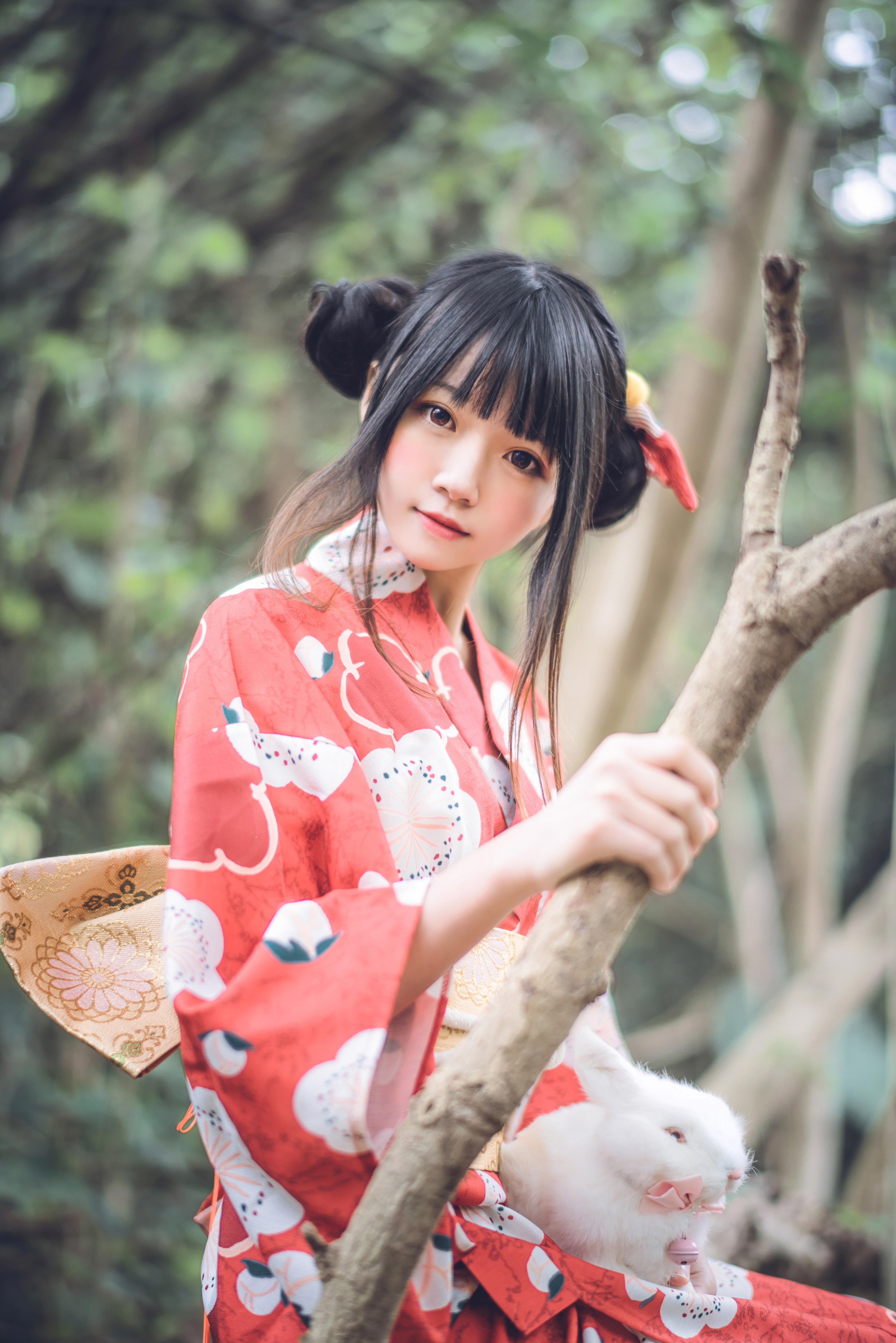 桜桃喵 - 夏日祭(和服的样子是不是美翻了呢?很不错哦!)