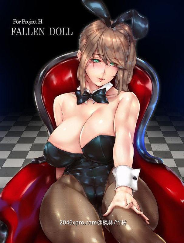 【3D互动/全动态/虚幻4】堕落玩偶女1号 Project H Fallen Doll Ver1.31最终版+动画版【16G】