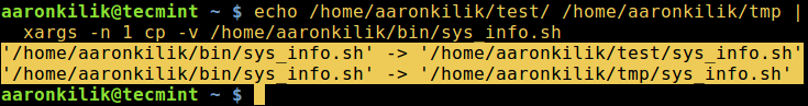cp 快捷命令:复制文件到多个目录cp 快捷命令:复制文件到多个目录