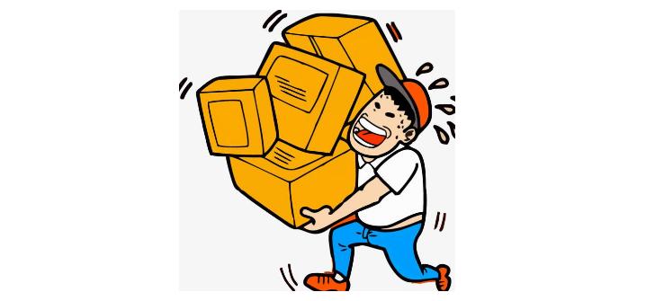 小件搬运工日结400一天 ,但是网上写文章挣钱可以日入1000+,你选哪个? 的图片第1张