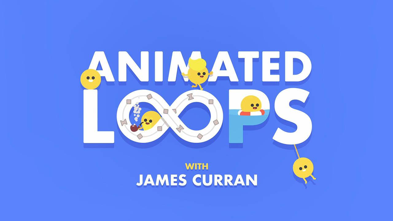 AE循环动画MG教程 Animated Loops with James Curran – Motion Design School