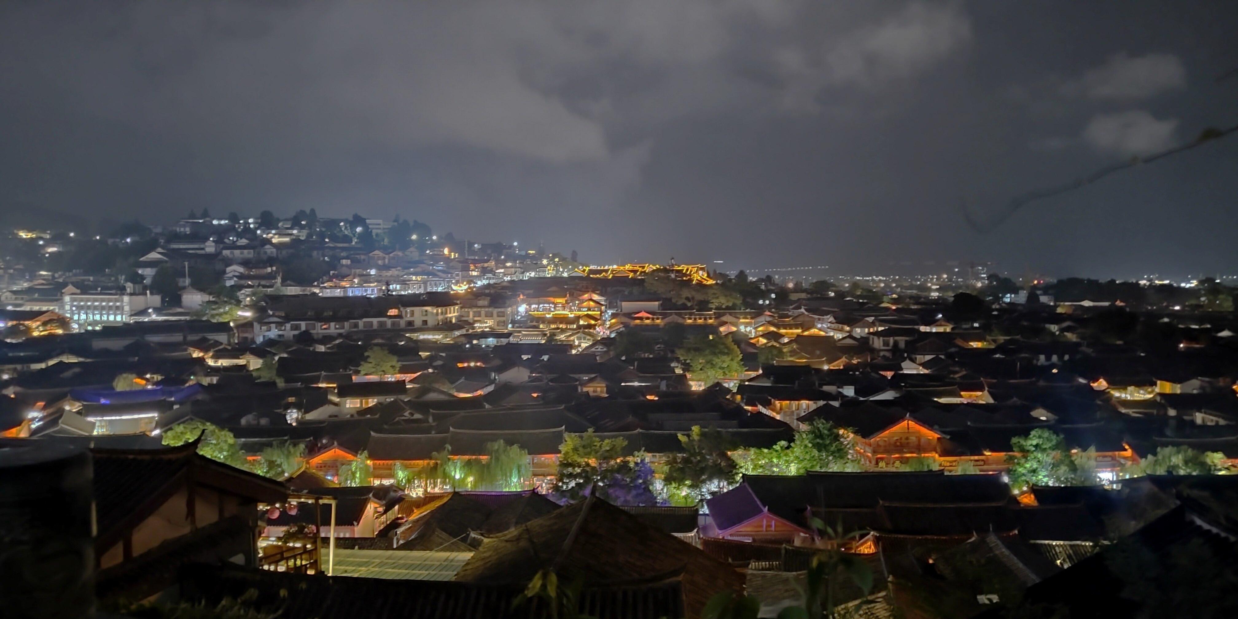 古城俯瞰 夜景