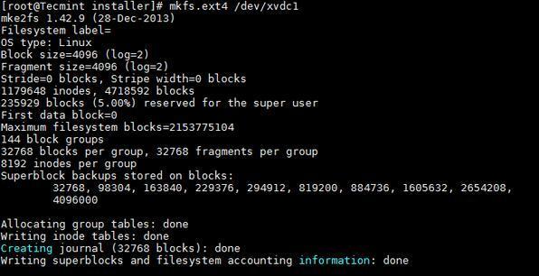 如何在Linux系统上添加新的磁盘如何在Linux系统上添加新的磁盘
