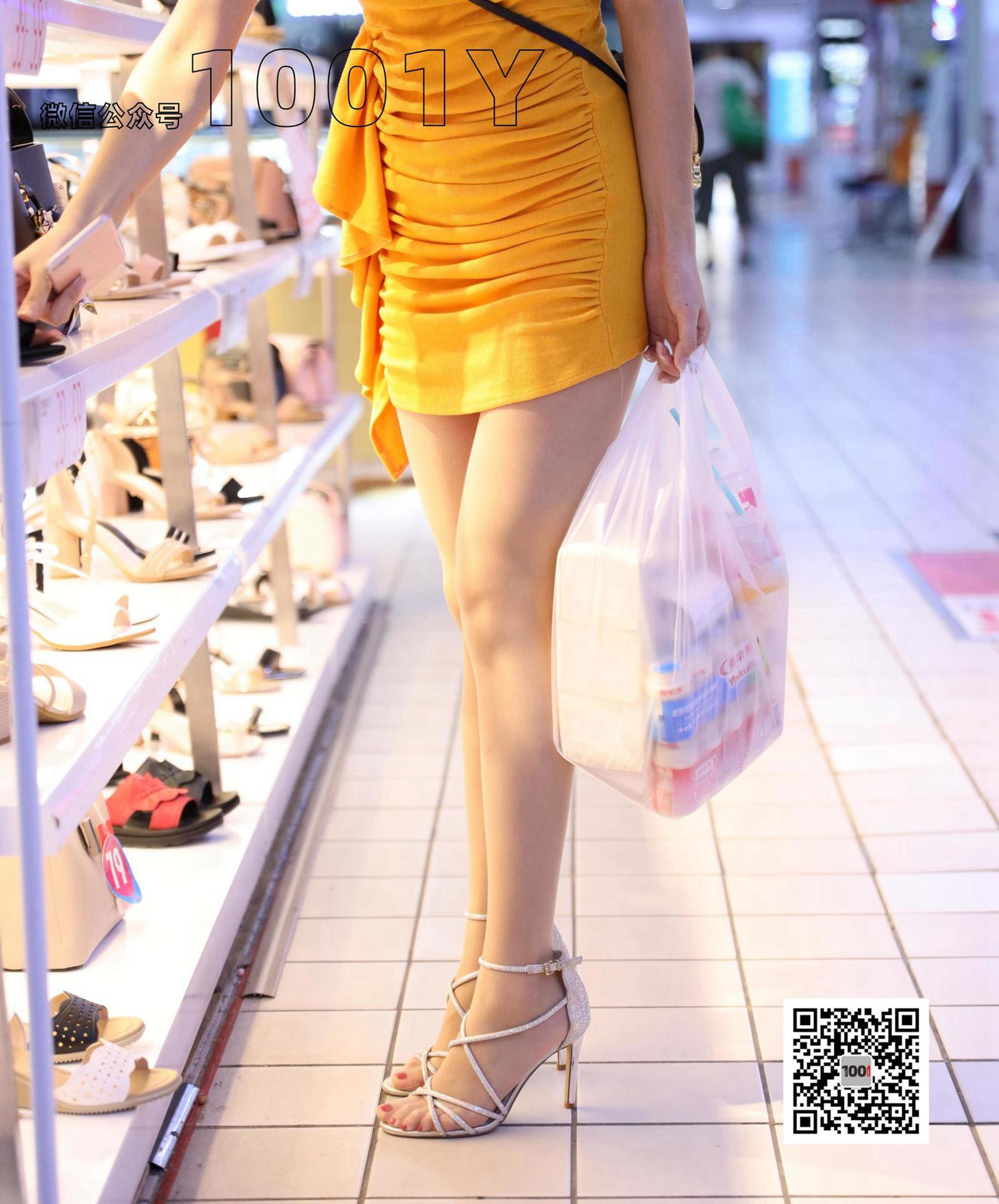 1001夜丝事 模特:Lucy 《超市购物2》肉色丝袜大长腿真的太吸引仁的目光!!-蜜桃畅享