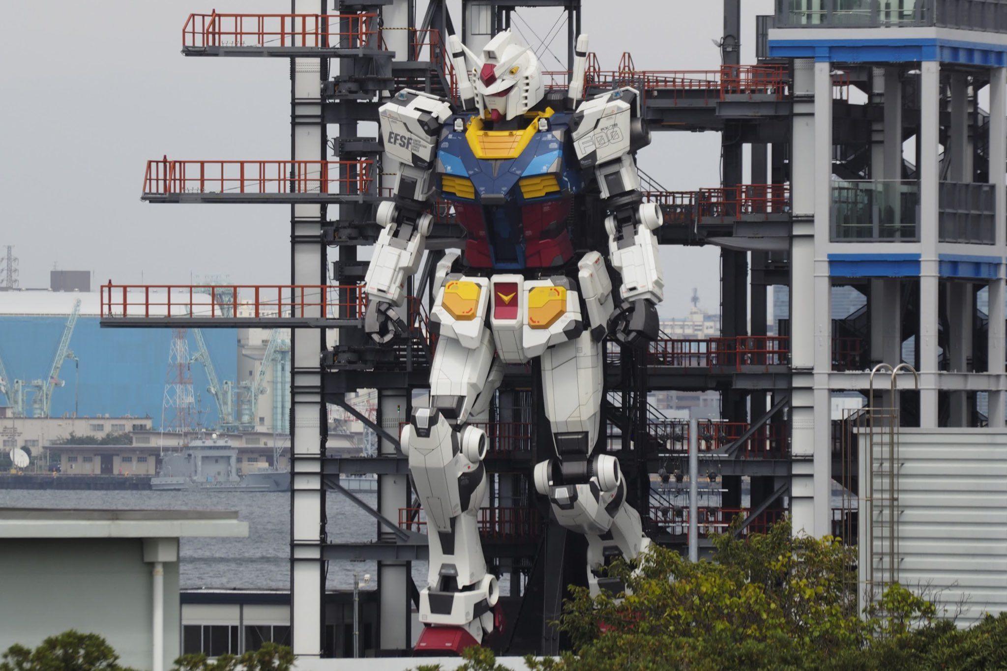 等身高达 可动高达 横滨