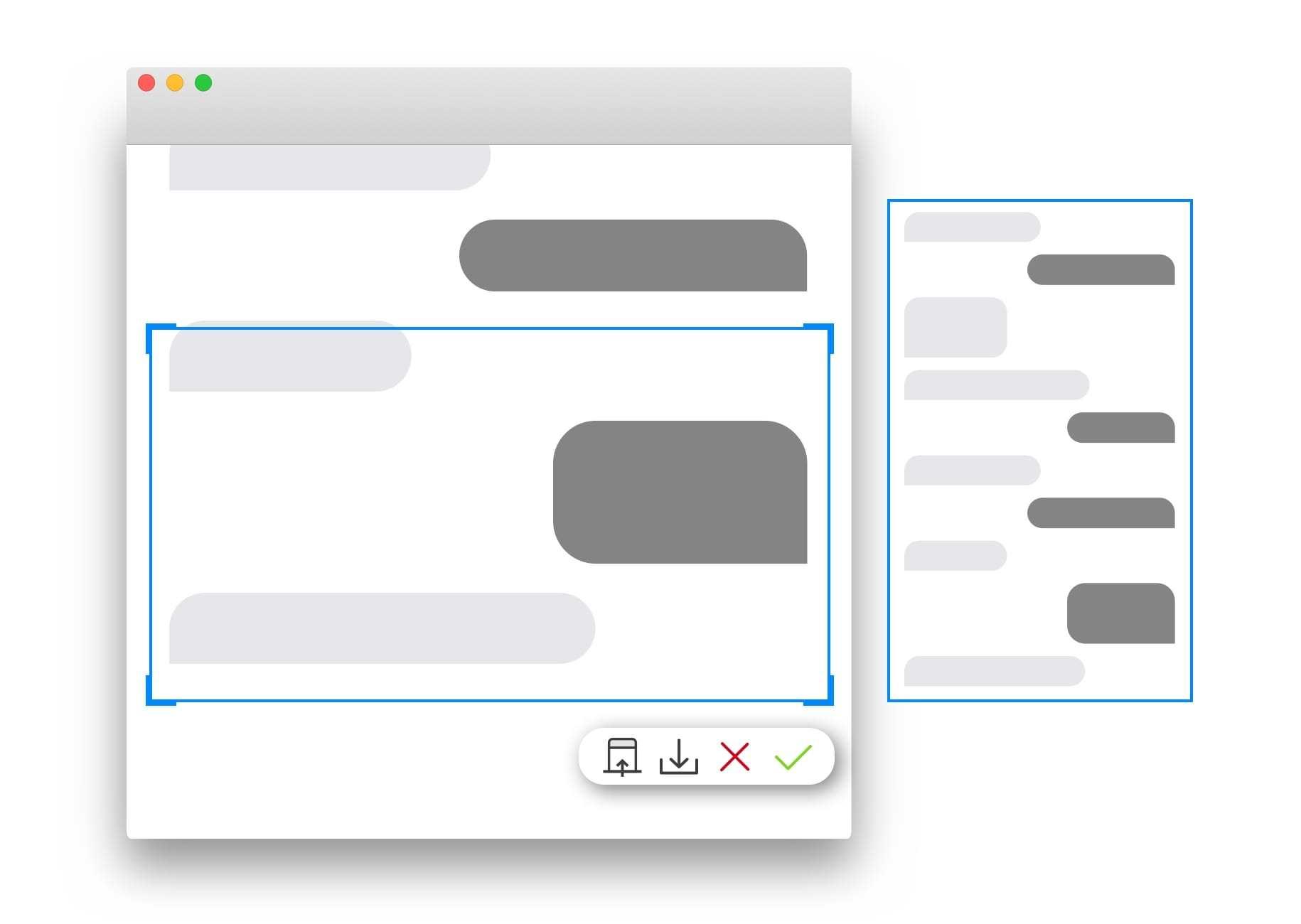 mac 截图技能大全以及分享一款好用的免费截图工具 Xnip的图片-高老四博客 第2张