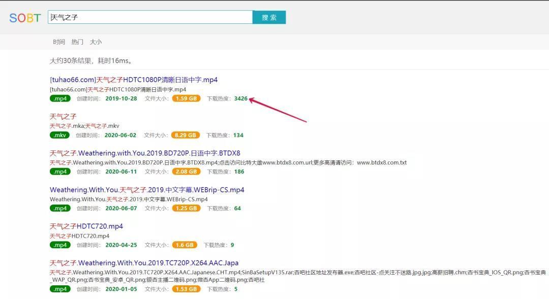 6002c3223ffa7d37b3ef36e6 磁力搜索网站--SOBT