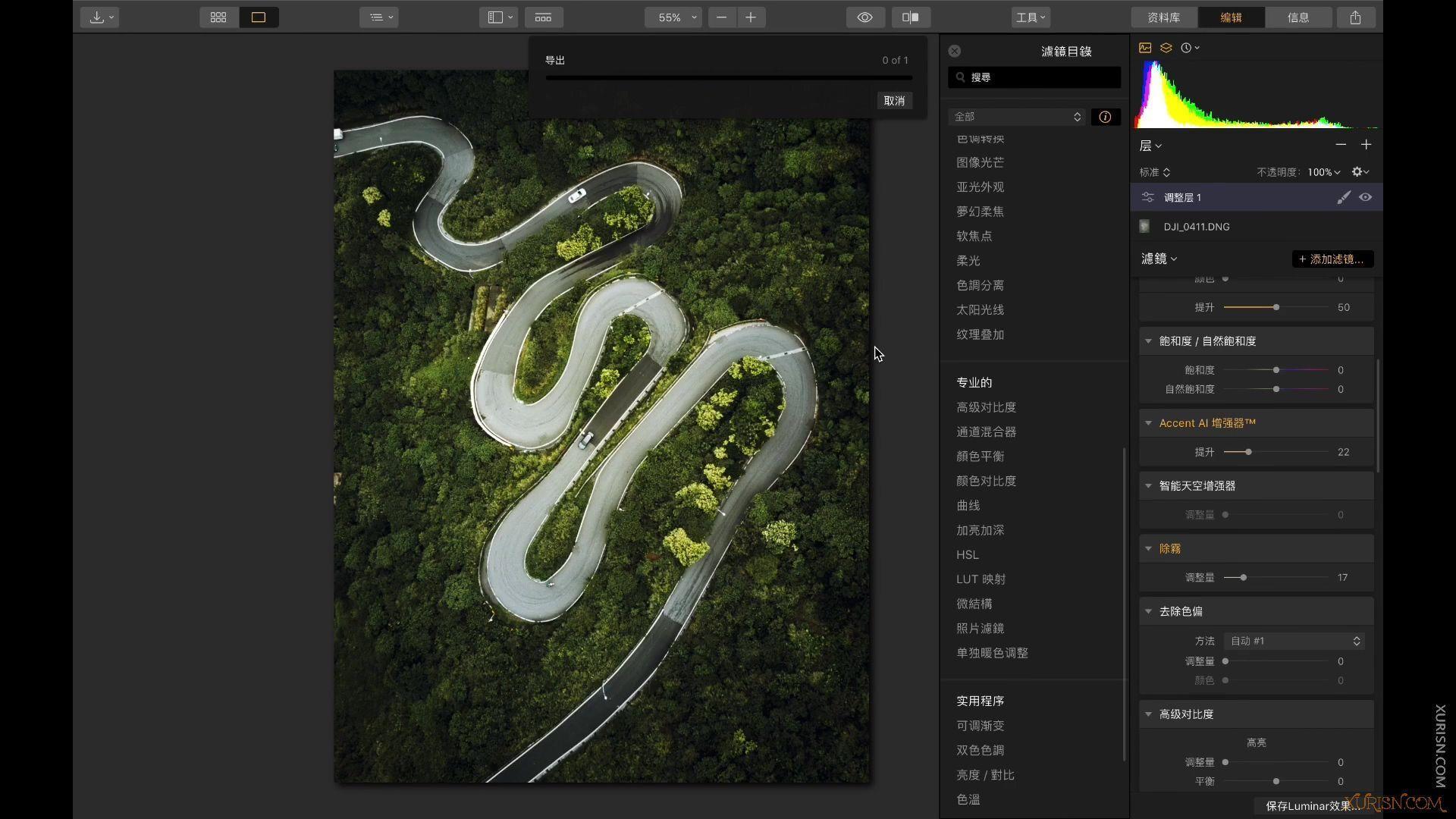 软件教程-Luminar 4中文版视频教程中文语音中文界面(4)